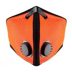 RZ mask Mesh M2 SAFETY ORANGE - smog mask - pomaranczowa