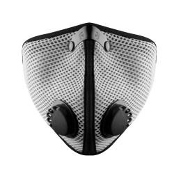 RZ mask Mesh M2 TITANIUM  smog mask - stalowa